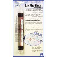 """LoRan Line Magnifier W/Sliding Markers .875""""X6.5"""" NOTM072242"""