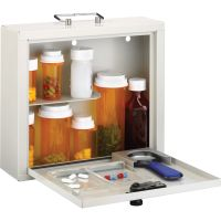 MMF Deluxe Steel Medication Case MMF201905806
