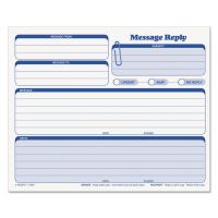 TOPS Rapid Letter Message Memos Form, 8 1/2 x 7, Three-Part Carbonless, 50 Forms TOP3801
