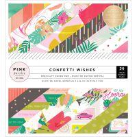 "Pink Paislee Single-Sided Paper Pad 6""X6"" 36/Pkg NOTM365975"