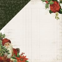 "Letters To Santa Double-Sided Cardstock 12""X12"" NOTM035337"