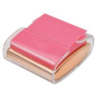 Post-it Pop-up Notes Super Sticky Wrap Dispenser, For 3 x 3 Pads, Rose Gold/Clear MMMWD330RG