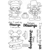 """Pink & Main Clear Stamps 4""""X6"""" NOTM079612"""