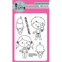 """Pink & Main Clear Stamps 3""""X4"""" NOTM035286"""