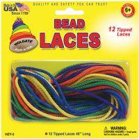 """Bead Laces 45"""" 12/Pkg NOTM302305"""