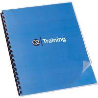 Swingline GBC Clear View Presentation Binding System Cover, 11 x 8-1/2, Clear, 100/Box GBC2020025