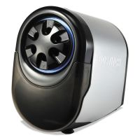 Bostitch QuietSharp Glow Classroom Electric Pencil Sharpener, Silver/Black BOSEPS11HC