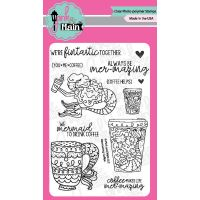 """Pink & Main Clear Stamps 4""""X6"""" NOTM375264"""