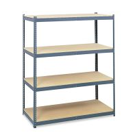 Safco Steel Pack Archival Shelving, 69w x 33d x 84h, Gray SAF5260