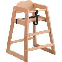 Flash Furniture HERCULES Series Stackable Natural Baby High Chair FHFXUDGW0024NATGG