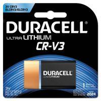 Duracell Ultra High Power Lithium Battery, CRV3, 3V, 1/EA DURDLCRV3B