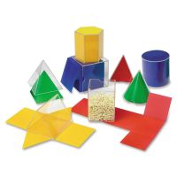 Learning Resources Folding Geometric Shapes, for Grades 2 and Up LRNLER0921