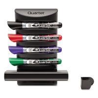 Quartet Prestige 2 Connects Marker Caddy, 4 Chisel-Tip Markers, Assorted QRT85377