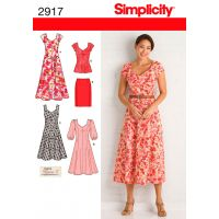 Simplicity Misses'/Women's Dress In Two NOTM495763