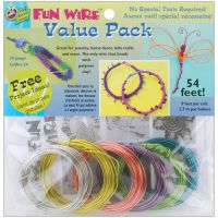 Plastic Coated Fun Wire Value Pack 9' Coils NOTM238978