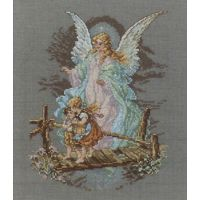 Janlynn Guardian Angel Counted Cross Stitch Kit NOTM250603