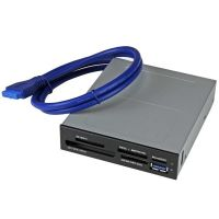StarTech.com USB 3.0 Internal Multi-Card Reader with UHS-II Support - SD/Micro SD/MS/CF Memory Card Reader SYNX4254024