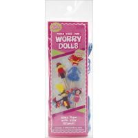 Make Your Own Worry Dolls Kit - Makes 4 NOTM150030