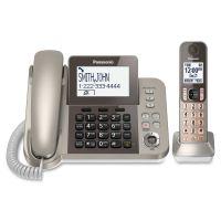 Panasonic KX-TGF350N DECT 6.0 Cordless Phone - Silver, Black PANKXTGF350N
