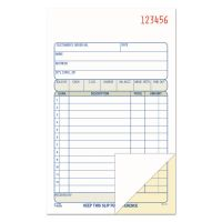 """Adams 2-Part Carbonless Sales Order Books, 7.18"""" x 4.18"""", Book of 50 Sets ABFDC4705"""