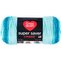 Red Heart Super Saver Ombre Yarn - Scuba NOTM067384