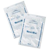 PM Company SecurIT Tamper-Evident Deposit Bags, 9 x 12, Plastic, White, 100 per Pack PMC58001