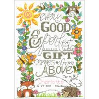 """Imaginating Counted Cross Stitch Kit 6""""X9"""" NOTM052273"""