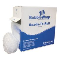 "Sealed Air Bubble Wrap® Cushion Bubble Roll, 1/2"" Thick, 12"" x 65ft SEL90065"