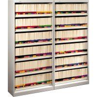 HON 600 Series Steel Open Shelving, Six-Shelf, 36w x 13-3/4d x 75-7/8h, Light Gray HON626NQ