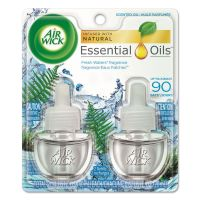 Air Wick Scented Oil Refill, Fresh Waters, 0.67oz, 2/Pack RAC79717