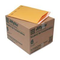 Sealed Air Jiffylite Self Seal Mailer, #6, 12 1/2 x 19, Golden Brown, 50/Carton SEL39097