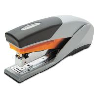 Swingline Optima 25 Reduced Effort Stapler, Full Strip, 25-Sheet Capacity, Gray/Orange SWI66402