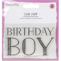 Dovecraft Clear Stamp NOTM040646