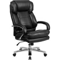 Flash Furniture Big & Tall Leather Executive Swivel Chair FHFGO2078LEAGG