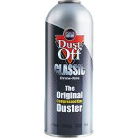 Dust-Off Canned Air Compressed Gas Classic Duster Refill  FALFGSR