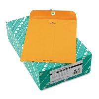 Quality Park Clasp Envelope, 8 3/4 x 11 1/2, 32lb, Brown Kraft, 100/Box QUA37787