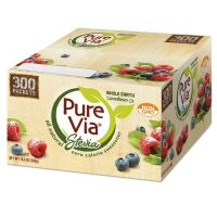 Pure Via Zero Calorie Sweetener, 300/Box EQL00105