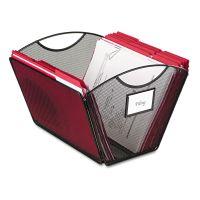 Safco Onyx Mesh Desktop Tub File Storage Box, Letter, Black SAF2162BL