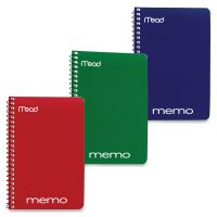 Mead Wirebound Memo Notebook MEA45644