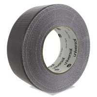 Universal General Purpose Duct Tape, 48mm x 54.8m, Silver UNV20048G