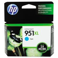 HP 951XL, (CN046AN) High Yield Cyan Original Ink Cartridge HEWCN046AN