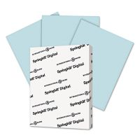 Springhill Digital Vellum Bristol Color Cover, 67 lb, 8 1/2 x 11, Blue, 250 Sheets/Pack SGH026000