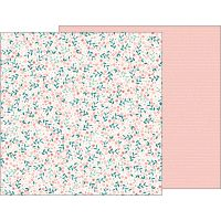 """Night Night Baby Girl Double-Sided Cardstock 12""""X12"""" NOTM338327"""