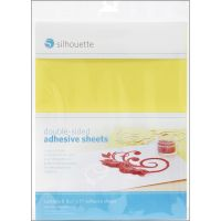 "Silhouette Double-Sided Adhesive Sheets 8.5""X11"" 8/Pkg NOTM349212"
