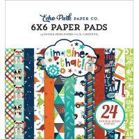 """Echo Park Double-Sided Paper Pad 6""""X6"""" 24/Pkg NOTM335057"""