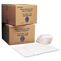 Koala Kare Baby Changing Station Sanitary Bed Liners, White, 500/Carton KKPKB15099