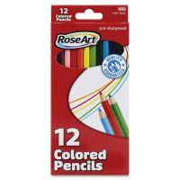 RoseArt Pre-sharpened 24 Colored Pencils RAIDFB59