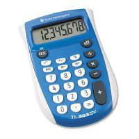 Texas Instruments TI-503SV Pocket Calculator, 8-Digit LCD TEXTI503SV