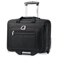 Samsonite Rolling Business Case, 16 1/2 x 8 x 13 1/4, Black SML438761041