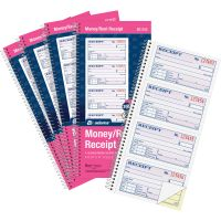 Adams Spiral 2-part Money/Rent Receipt Book ABFSC1152PK